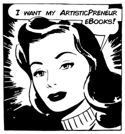 I want my ArtisticPreneur eBooks